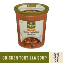 Panera Bread Soup, Chicken Tortilla