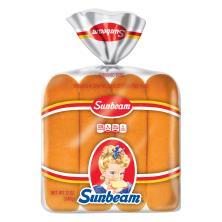 Sunbeam Hot Dog Buns