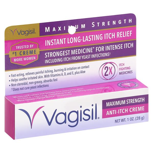 Have faced i have vagisil on and my vagina still itches
