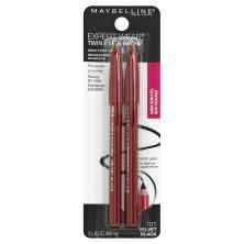 Maybelline Expert Wear Brow Liner & Pencil, Velvet Black 101
