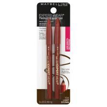 Maybelline Expert Wear Twin Brow & Eye Pencils, Light Brown 104