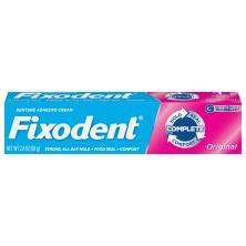 Fixodent Denture Adhesive Cream, Original