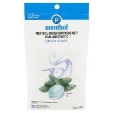 Publix Cough Drops, Menthol