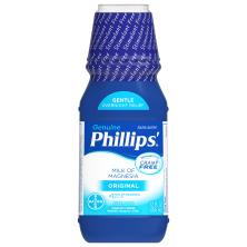 Phillips Laxative, Saline, Milk of Magnesia, Original