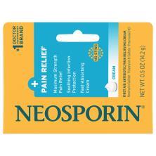 Neosporin + Pain Relief First Aid Antibiotic/Pain Relieving Cream, Maximum Strength