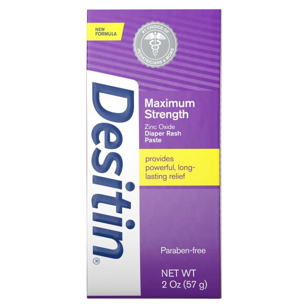 Desitin Diaper Rash Paste, Zinc Oxide, Maximum Strength