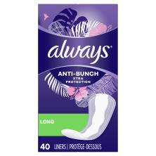 Always Xtra Protection Liners, Daily, Long