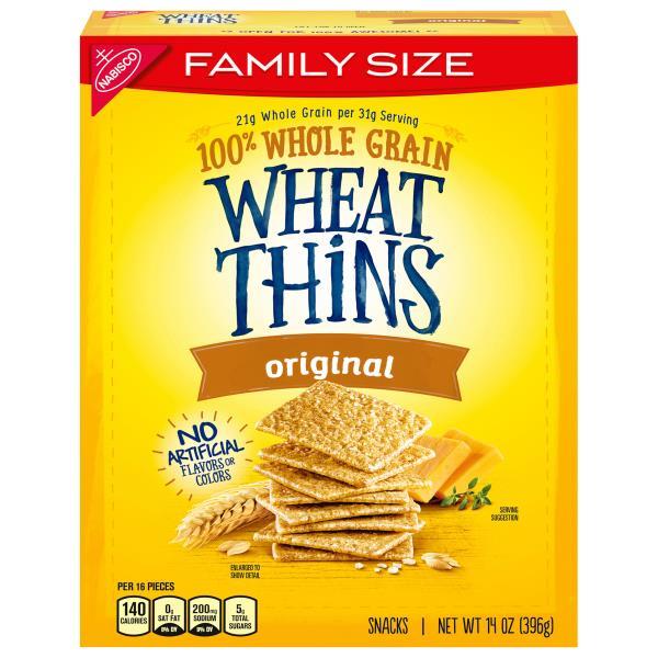 wheat thins snacks original family size publixcom