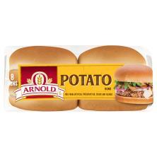 Arnold Select Sandwich Rolls, Potato, Sweet Golden