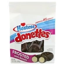 Hostess Donettes Donuts, Frosted, Mini