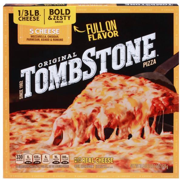 Tombstone Pizza, Original, 5 Cheese