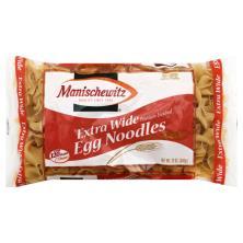 Manischewitz Egg Noodles, Extra Wide