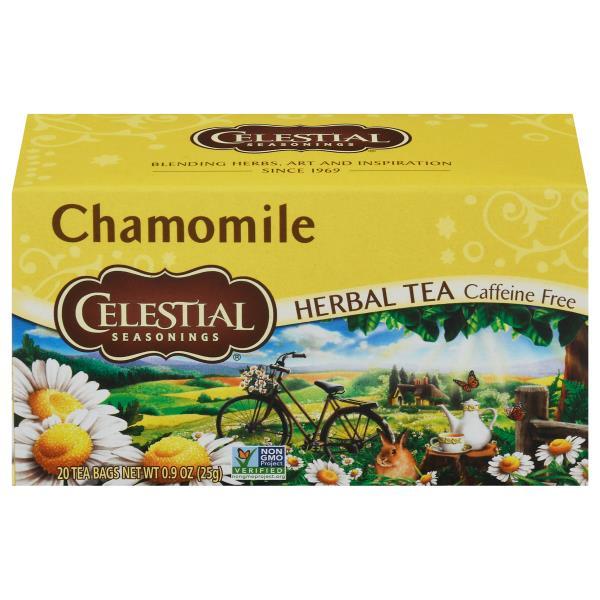 Celestial Seasonings Herbal Tea Chamomile Caffeine Free Bags