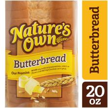 Natures Own Bread, Enriched, Butterbread