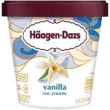 Haagen Dazs Ice Cream, Vanilla