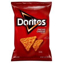 Doritos Tortilla Chips, Nacho Cheese Flavored