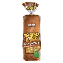 Natures Own Bread, 100% Whole Wheat