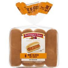 Pepperidge Farm Bakery Classics Hot Dog Buns, Side Sliced