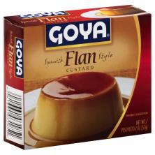 Goya Flan, Spanish Style Custard
