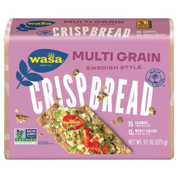 Wasa Crispbread, Whole Grain, Multi Grain