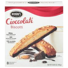 Nonnis Biscotti, Cioccolati