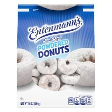Entenmanns Donuts, Powdered, Snack Size!