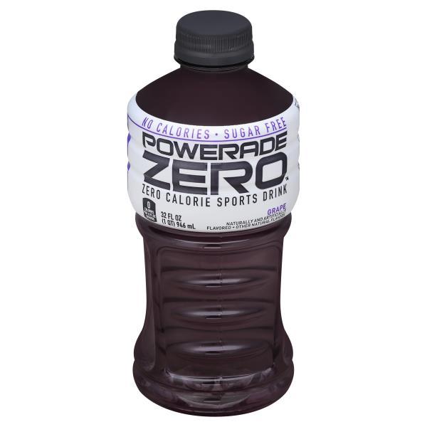 Powerade Zero Sports Drink Zero Calorie Grape Publix Com