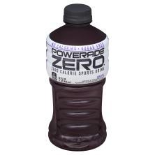 Powerade Zero Sports Drink, Zero Calorie, Grape