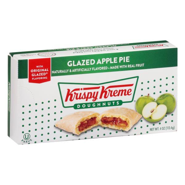 Krispy Kreme Apple Pie, Glazed