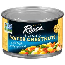 Reese Water Chestnuts, Sliced