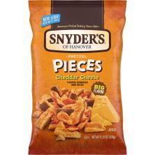 Snyders Pretzel Pieces, Cheddar Cheese