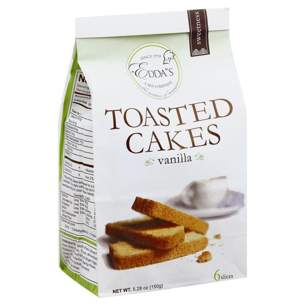 Eddas Toasted Cakes