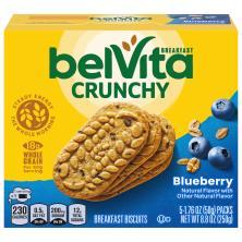 BelVita Breakfast Biscuits, Blueberry