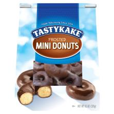 Tastykake Donuts, Frosted, Mini
