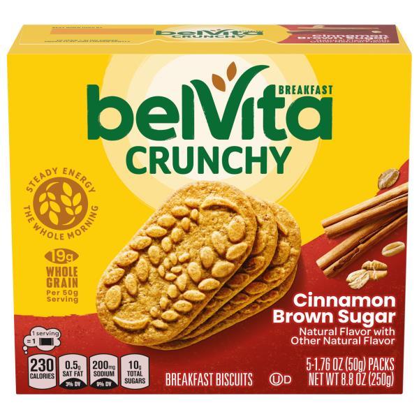 BelVita Breakfast Biscuits, Cinnamon Brown Sugar