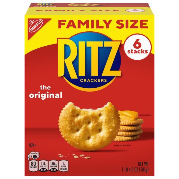 Ritz Crackers, Family Size!