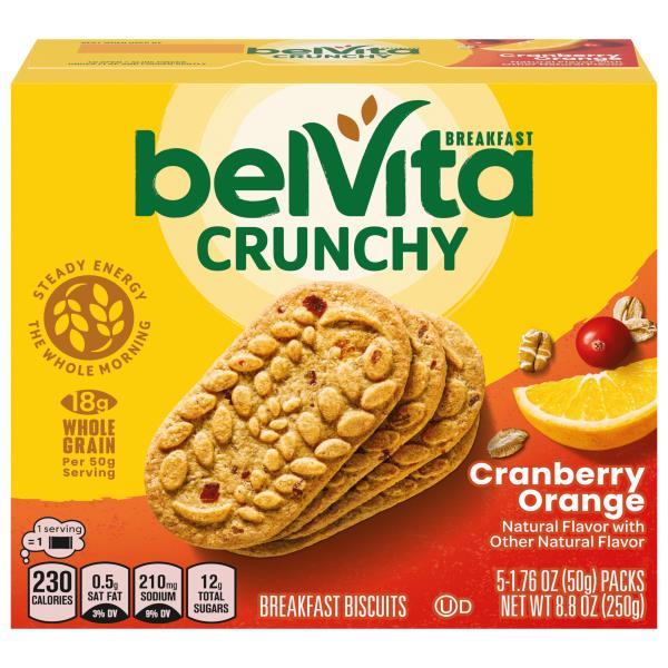 BelVita Breakfast Biscuits, Cranberry Orange