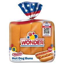 Wonder Hot Dog Buns, Classic