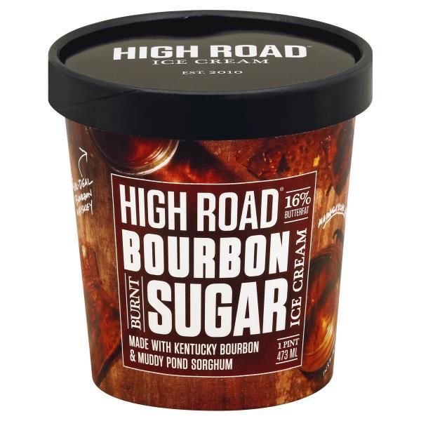 High Road Ice Cream, Bourbon Burnt Sugar