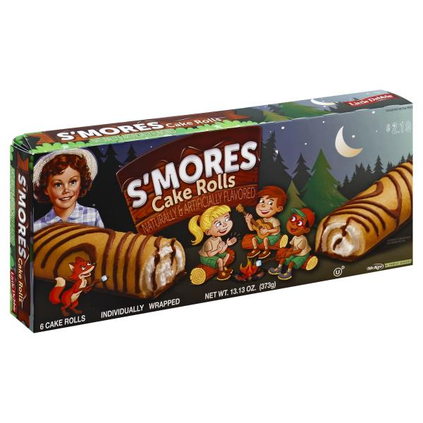 Little Debbie Happy Camper S Mores Cake Rolls Publix Com