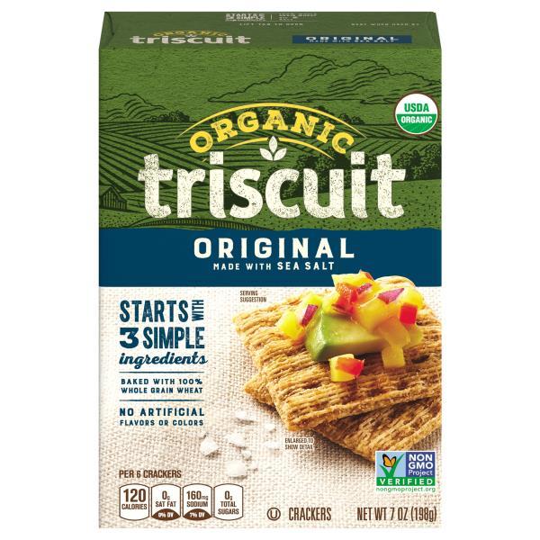 Triscuit Crackers, Organic, Original : Publix.com