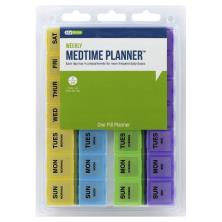 EZY Dose Medtime Planner, Four-A-Day Weekly