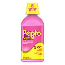 Pepto Bismol Upset Stomach Reliever/Antidiarrheal