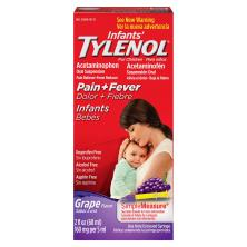 Tylenol Infants' Pain + Fever, Infants, Grape Flavor