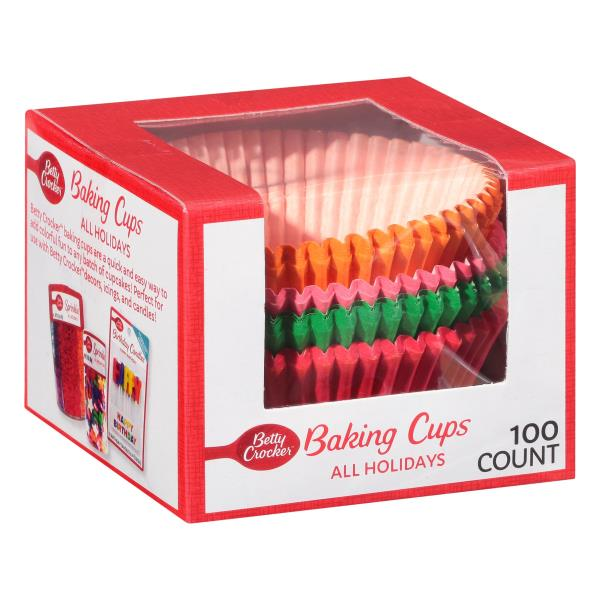 Betty Crocker Cupcake Liners, All Holidays, Must-Have Colors ...