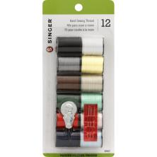 Singer Sewing Thread Spools, Hand, Polyester