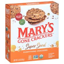 Marys Gone Crackers Super Seed Crackers Organic Everything