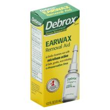 Debrox Earwax Removal Aid, Drops