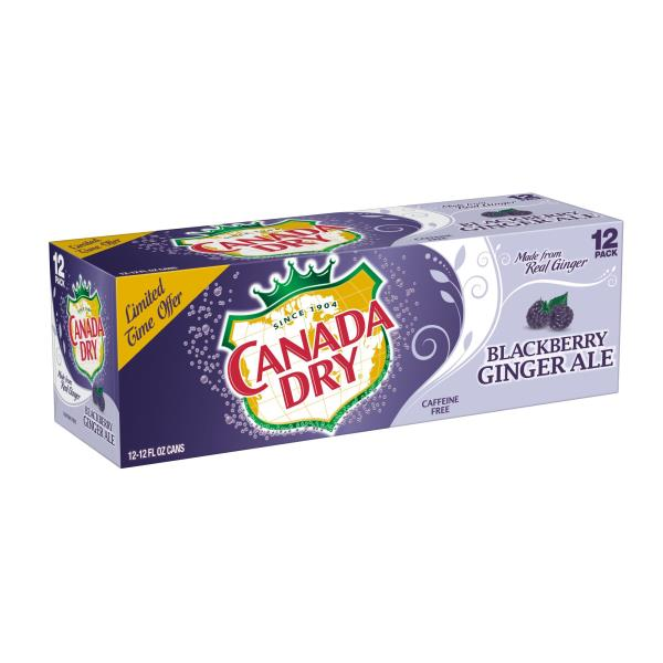 Canada Dry Ginger Ale Blackberry 12 Pack Publixcom