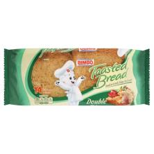 Bimbo Toasted Bread, Double Fiber